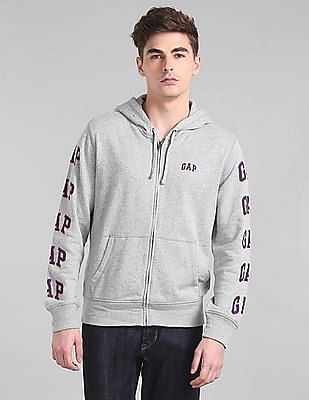 7b1737a6c4cb5 GAP Heathered Hooded Sweatshirt. SHOP NNNOW. FAVOURITE. OFFER