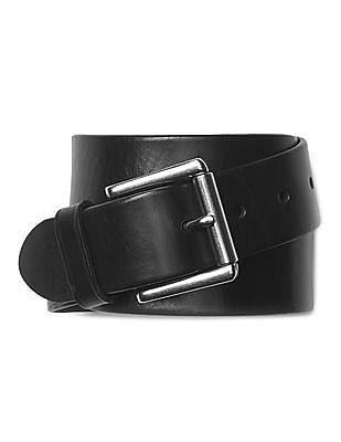 GAP Men Black Tanned Leather Belt