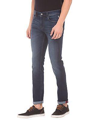 Izod Mid Rise Stone Wash Jeans