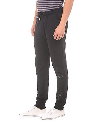 Ed Hardy Slim Fit Contrast Panelled Joggers