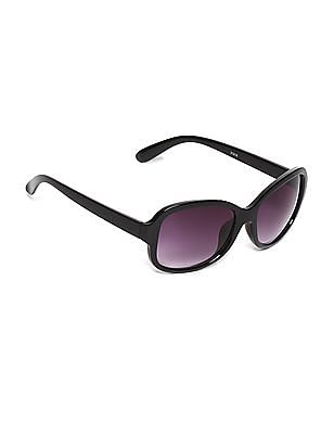 SUGR Oval Frame Gradient Sunglasses