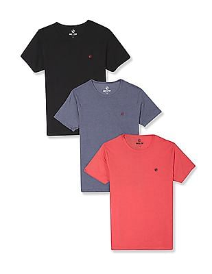 Ruf & Tuf Crew Neck T-Shirt - Pack Of 3