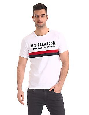 9a527164b5 Buy Mens USTS5968 White Mens T-Shirt online at NNNOW.com