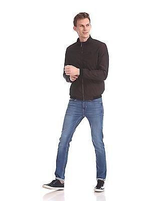 Arrow Newyork Slim Fit Reversible Jacket