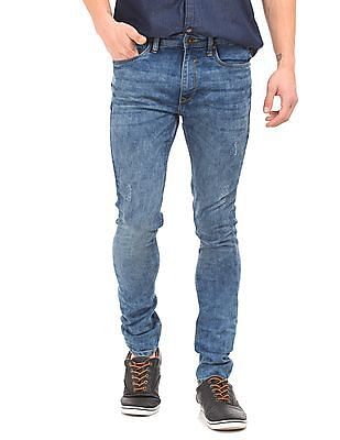 Cherokee Distressed Skinny Fit Jeans