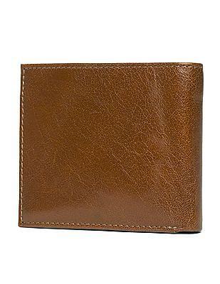 U.S. Polo Assn. Textured Leather Bi-Fold Wallet