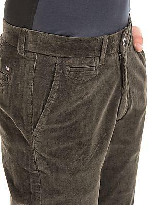 Arrow Slim Fit Corduroy Trousers