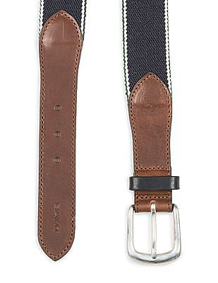 Gant Striped Elasticized Belt