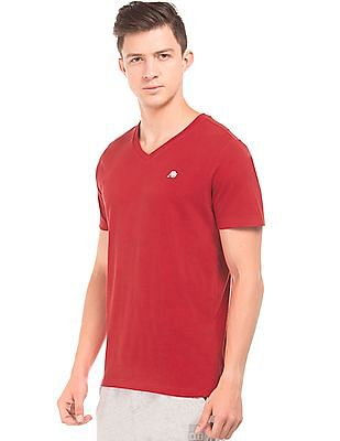 Aeropostale Regular Fit V-Neck T-Shirt