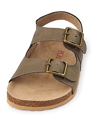 The Children's Place Baby Double Strap Sandals