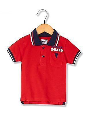 Donuts Boys Pique Polo Shirt