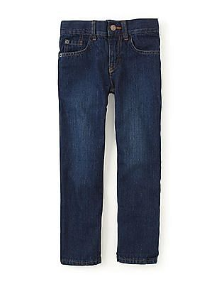 The Children's Place Boys Straight Solstice Wash Jeans