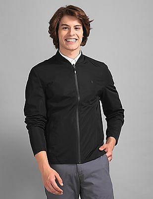 True Blue Black Stylized Reversible Jacket