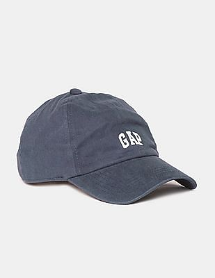GAP Women Blue Micro Logo Baseball Cap