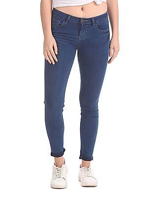Newport Mid Rise Skinny Jeans