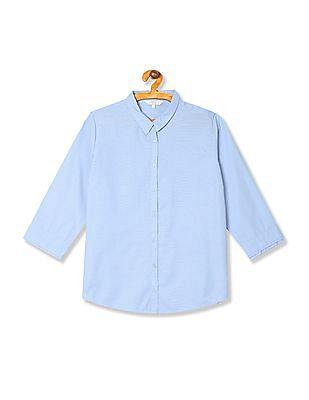 Arrow Woman Regular Fit Dobby Shirt
