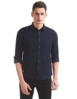 Ed Hardy Slim Fit Patterned Shirt
