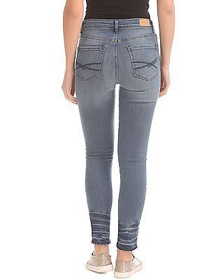 Aeropostale Stone Wash Jegging Fit Jeans