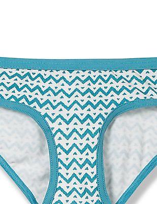 Aeropostale Printed Bikini Panties