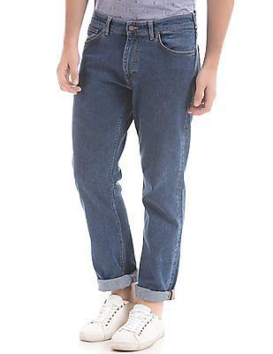 Gant Regular Straight Fit Stone Wash Jeans