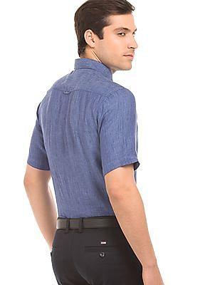 Arrow Sports Slub Regular Fit Shirt