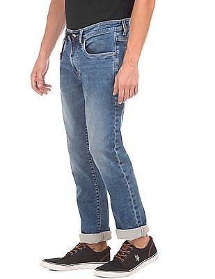 U.S. Polo Assn. Denim Co. Drawstring Waist Slim Tapered Fit Jeans