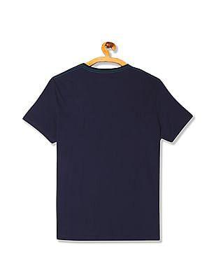 Gant Contrast Gant Shield T-Shirt