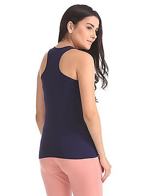 Unlimited Solid Racerback Top