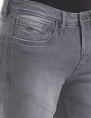 Arrow Sports Skinny Fit Washed Jeans