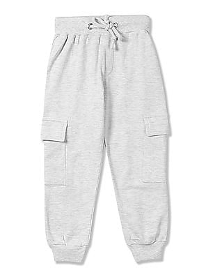 Cherokee Girls Solid Knit Joggers