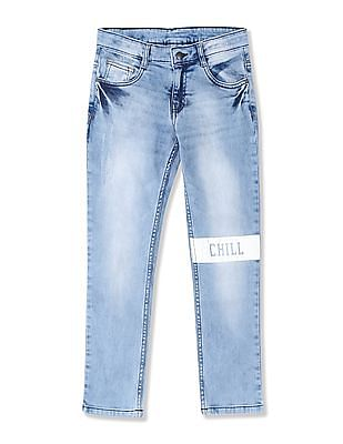 8d4567fbe89 Buy Boys FKJN5266 Me. Blue Boys Jeans online at NNNOW.com