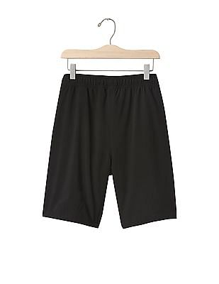 GAP Boys Black Swim To Sport Shorts