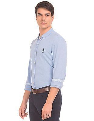 U.S. Polo Assn. Button Down Knit Shirt