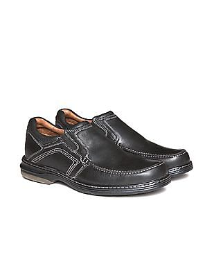 Johnston & Murphy Textured Leather Loafers