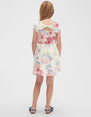 GAP Girls Twist-Back Dress