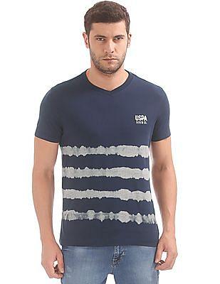 U.S. Polo Assn. Denim Co. Printed V-Neck T-Shirt