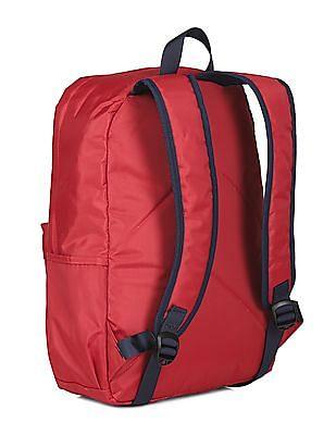 U.S. Polo Assn. Kids Boys Contrast Panelled Backpack