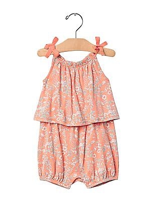 GAP Baby Floral Two Tier One Piece