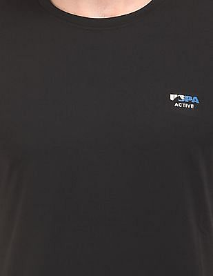 USPA Active Contrast Panel Active T-Shirt