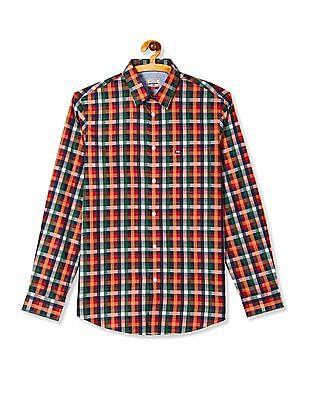Arrow Sports Long Sleeve Check Shirt