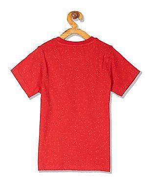 Cherokee Boys Crew Neck Printed T-Shirt