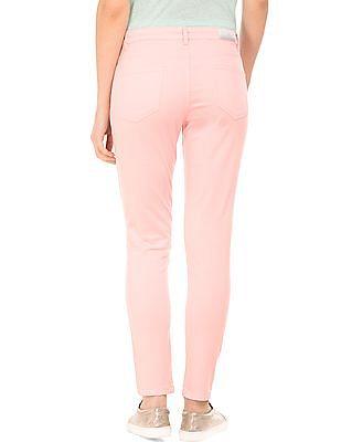 Elle Regular Fit Distressed Trousers