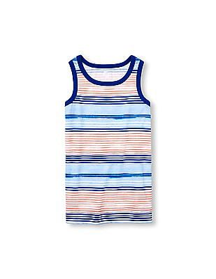 The Children's Place Boys PLACE Sport Sleeveless Striped Tank Top