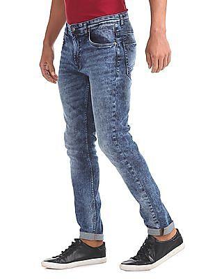 Cherokee Slim Fit Stone Wash Jeans
