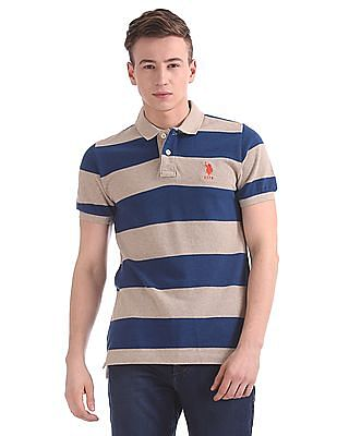 U.S. Polo Assn. Regular Fit Stripe Polo Shirt