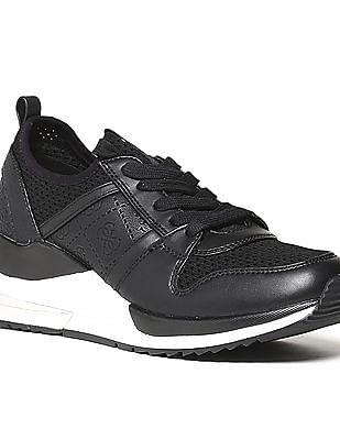 GUESS Perforated Upper Debossed Sneakers