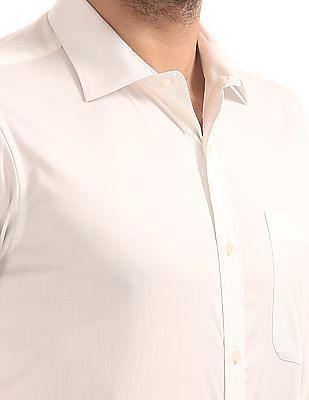 Arvind Regular Fit Stretch Shirt