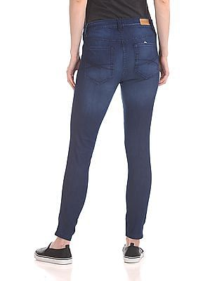 Aeropostale Low Rise Stone Washed Jeans
