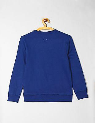 GAP Blue Boys Logo Sweatshirt