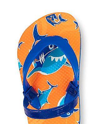The Children's Place Toddler Boy Shark Flip-Flops